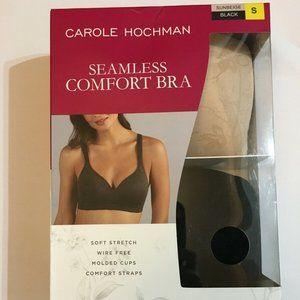 CAROLE HOCHMAN SEAMLESS COMFORT BRA 2 Pack